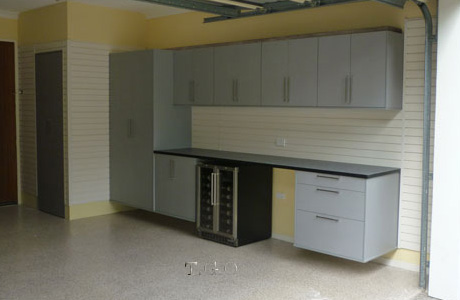 we have diy cabinets for the handy person or we can design and install any custom cabinet your garage storage needs may require