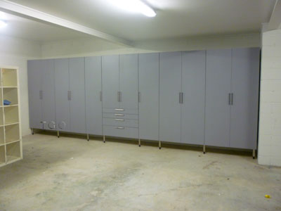 CUSTOM GARAGE CABINETS Designed By Proffessionals, Installed By  Proffessionals And Built Within Budget