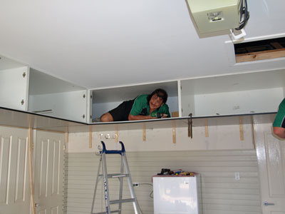 garage ceiling cabinets get it off the floor and onto the ceilings